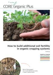 Cover FERTILCROP project flyer